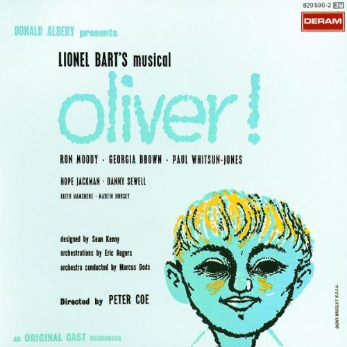 Lionel Bart I'd Do Anything (from Oliver!) cover art