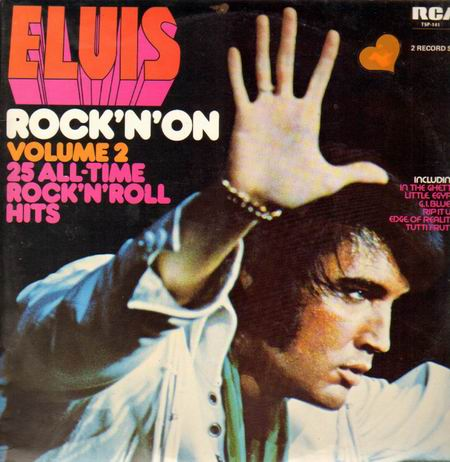Elvis Presley Treat Me Nice cover art