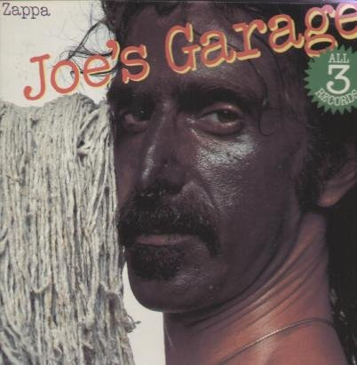 Frank Zappa Joe's Garage cover art