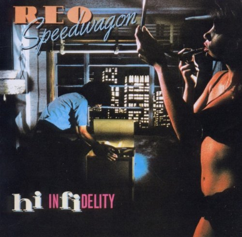 REO Speedwagon Keep On Loving You cover art