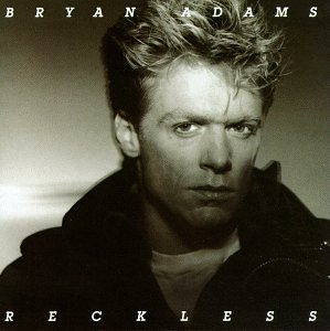 Bryan Adams It's Only Love cover art