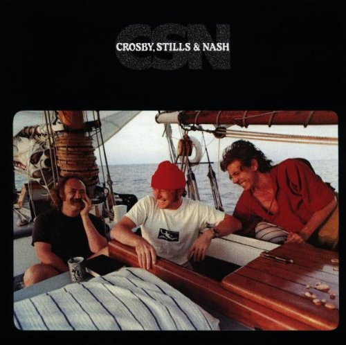 Crosby, Stills & Nash Shadow Captain cover art