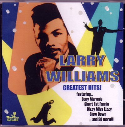 Larry Williams Dizzy Miss Lizzy cover art