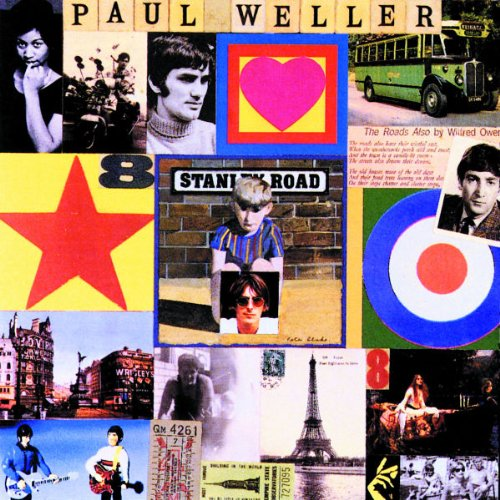 Paul Weller I Walk On Gilded Splinters cover art
