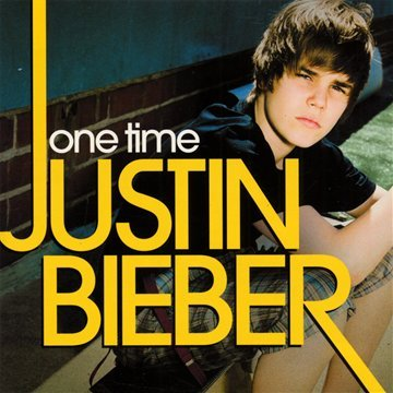 Justin Bieber One Time cover art