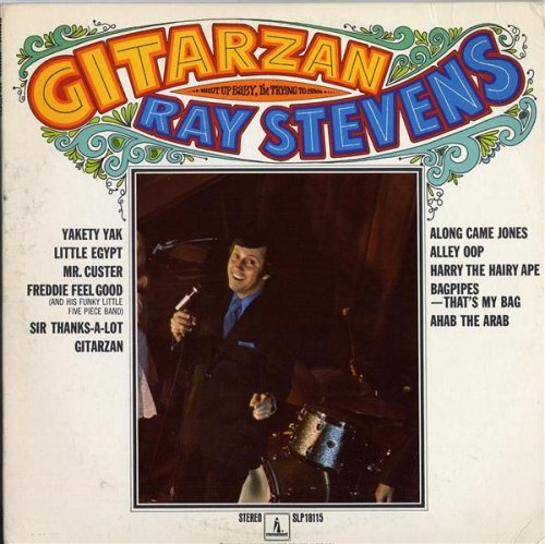 Ray Stevens Bridget The Midget cover art