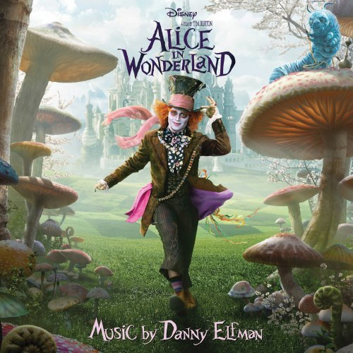 Danny Elfman Alice Returns cover art