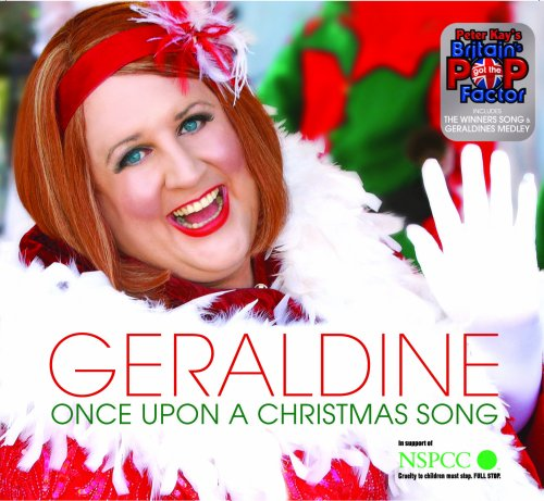 Geraldine McQueen Once Upon A Christmas Song cover art