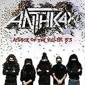 Anthrax I'm The Man '91 cover art
