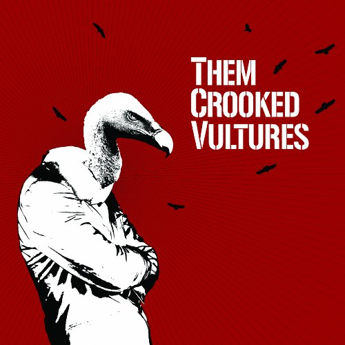 Them Crooked Vultures New Fang cover art