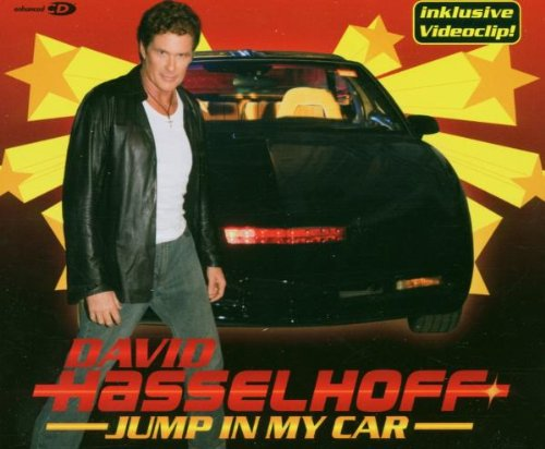David Hasselhoff Jump In My Car cover art