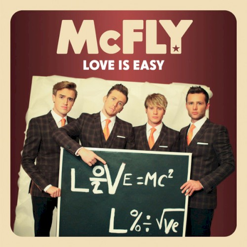 Love Is Easy sheet music by McFly