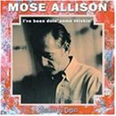Everybody's Cryin' Mercy sheet music by Mose Allison