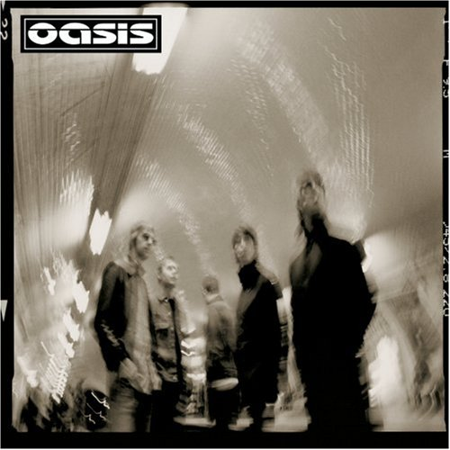 Oasis Born On A Different Cloud cover art