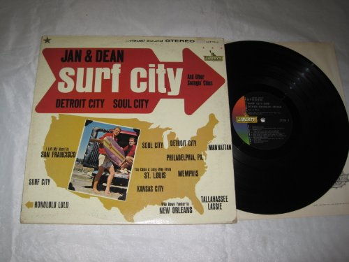 Jan & Dean Surf City cover art