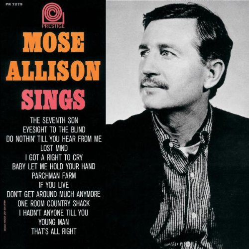 Mose Allison One Room Country Shack cover art