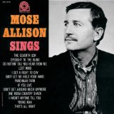 That's All Right sheet music by Mose Allison