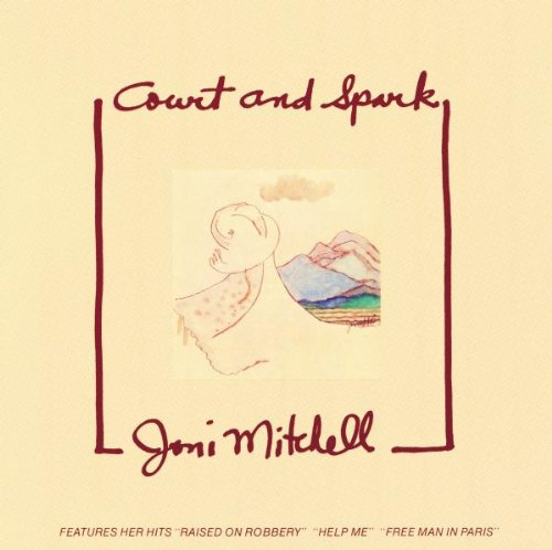 Joni Mitchell Court And Spark cover art