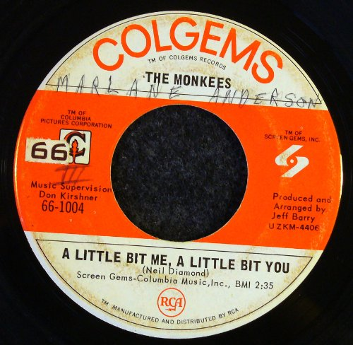 The Monkees A Little Bit Me, A Little Bit You cover art