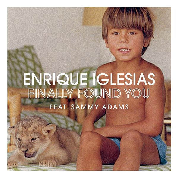 Enrique Iglesias Finally Found You cover art