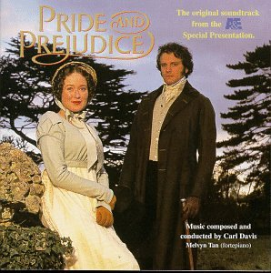 Carl Davis Pride And Prejudice cover art