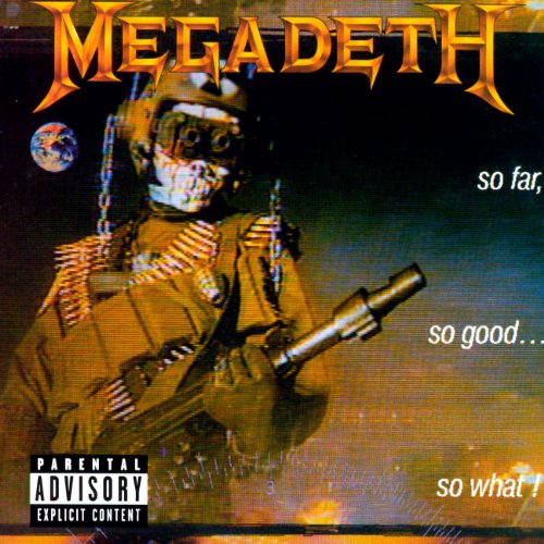 Megadeth In My Darkest Hour cover art