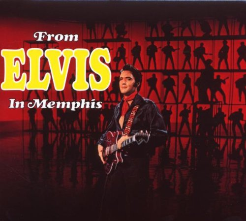Elvis Presley Suspicious Minds cover art