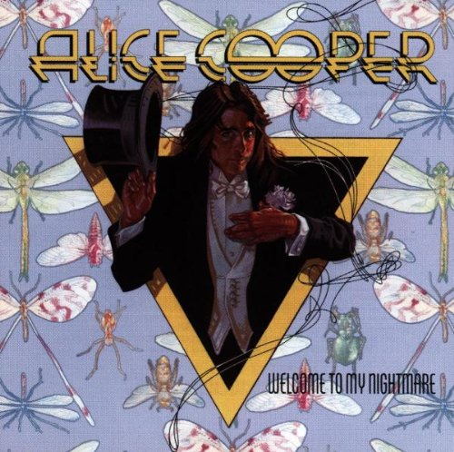 Alice Cooper Welcome To My Nightmare cover art