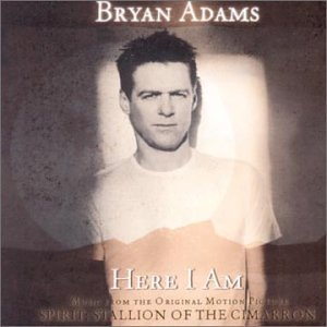 here i am end title sheet music by bryan adams piano