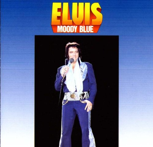 Elvis Presley Moody Blue cover art