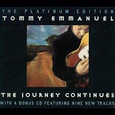 Tommy Emmanuel The Hunt cover art