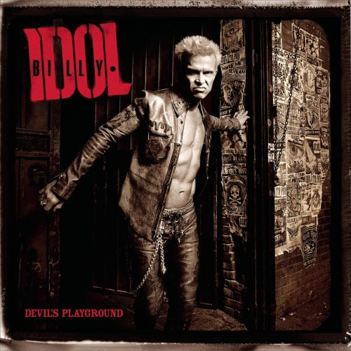 Billy Idol World Comin' Down cover art