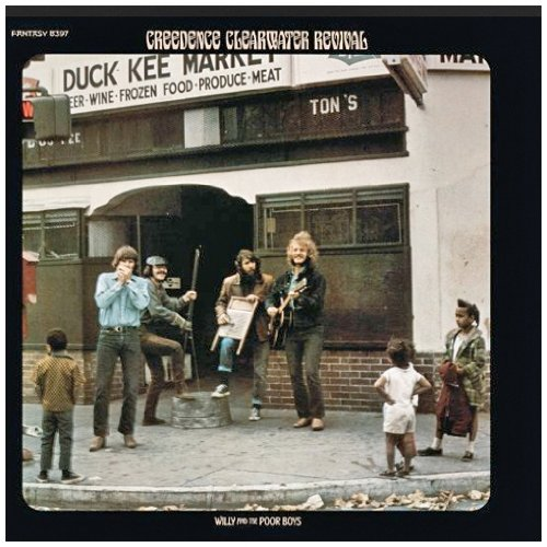 Creedence Clearwater Revival Don't Look Now cover art