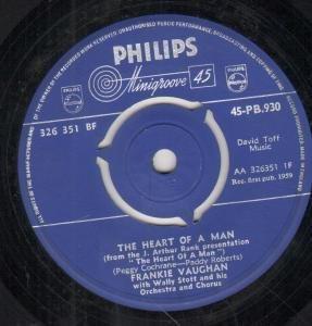 Frankie Vaughan The Heart Of A Man cover art