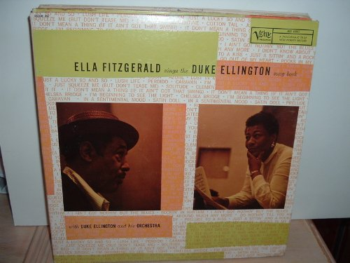 Ella Fitzgerald Satin Doll cover art