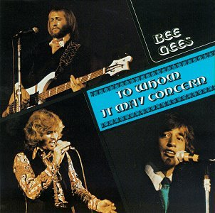 Bee Gees Run To Me cover art