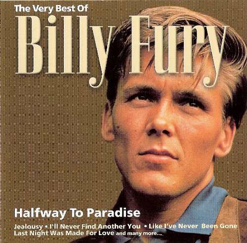 Billy Fury Halfway To Paradise cover art