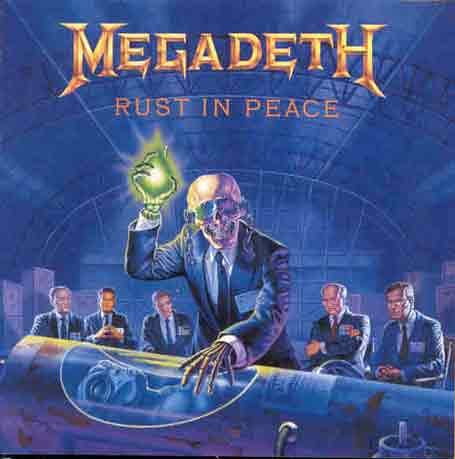 Megadeth Holy Wars...The Punishment Due cover art