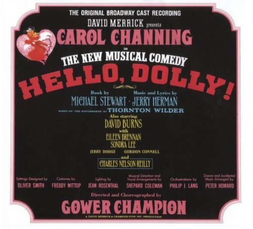 Jerry Herman It Only Takes A Moment (from Hello Dolly (arr. Kirby Shaw) cover art