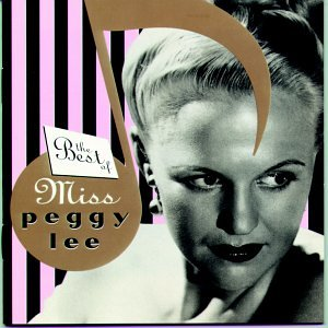 Peggy Lee Let Me Go, Lover! cover art