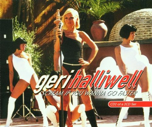 Geri Halliwell It's Raining Men cover art