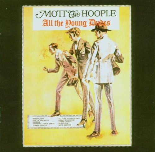 Mott The Hoople All The Young Dudes cover art