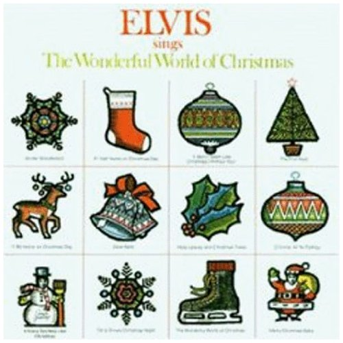 Elvis Presley I'll Be Home On Christmas Day cover art
