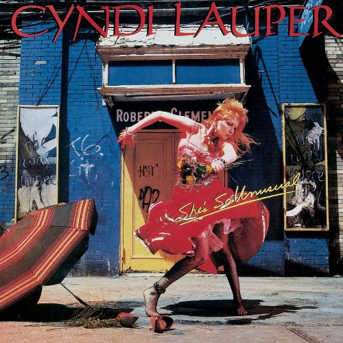 Cyndi Lauper Time After Time cover art