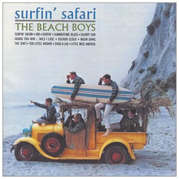 The Beach Boys Surfin' cover art