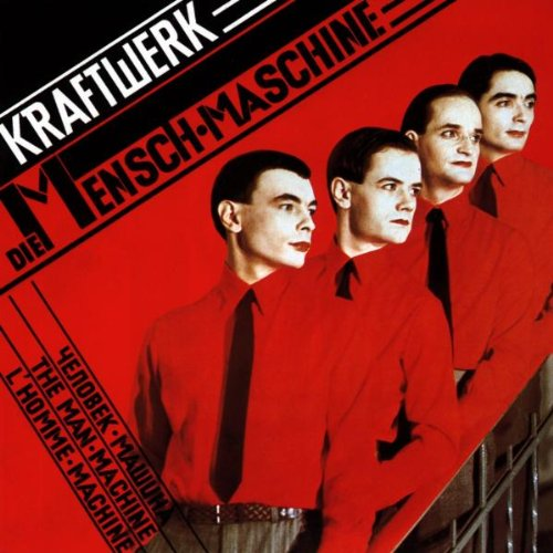Kraftwerk The Model arte de la cubierta
