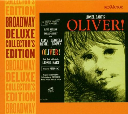 Lionel Bart Oliver! cover art