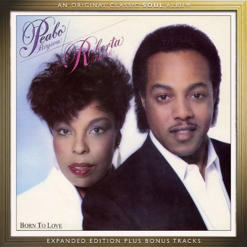 Peabo Bryson & Roberta Flack Tonight, I Celebrate My Love cover art