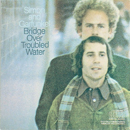 Simon & Garfunkel Bridge Over Troubled Water cover art