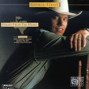 George Strait Amarillo By Morning cover art